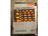 EU Law Cases and materials