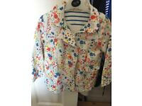 Young girls raincoat like new hardly worn age 3-4 from George