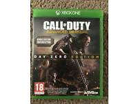 Xbox one games Call of duty : advanced warfare & Ghosts