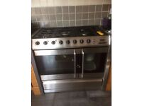Belling Platinum DB3 100 cm Dual (Electric and Gas) Kitchen Range