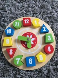 Wooden puzzle like new
