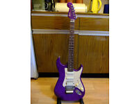 Squier by Fender Stagemaster Electric Guitar HSS Strat Style