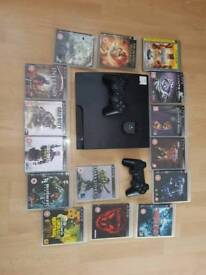 Ps3 slim with controllers