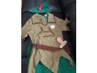 Peter Pan Dressing Up Costume