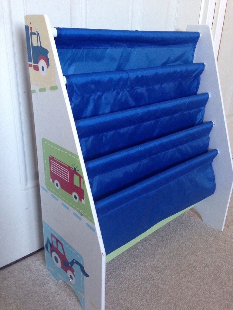 Boys Car Sling Bookcase In Stirling Gumtree