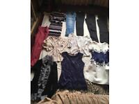 Bundles ladies clothes size 8 used 13items good condition £10