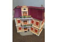 DOLLS HOUSE GRANDE MANSION PLAYMOBIL 5302 (partly assembled)