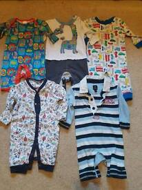 Baby boys 0-3months rompers