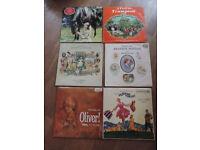 6 Children's Film/Television Vinyl Records
