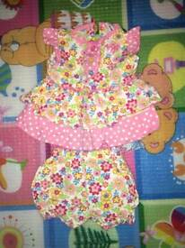 Baby dress 👗 0-3 month