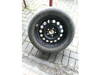 VOLVO 740 760 940 944 945 960 15 INCH STEEL WHEEL WITH 225 50 15 TYRE