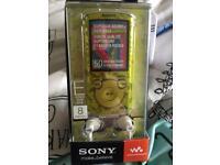 Sony 8gb E series digital media player NWZ-E464