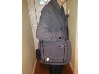 Designer Joe Nimble Grey City bag