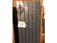ANTHRACITE VERTICAL FLAT PANEL RADIATOR 1780 X 420MM, Boxed, New.!!