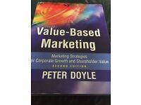 Value Based Marketing