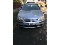 Silver VW Golf 2005 Manual Petrol