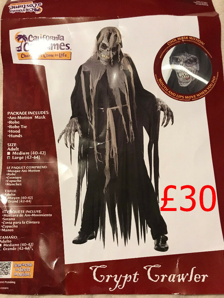 crypt crawler with ani-motion mask | in plymouth, devon | gumtree