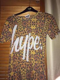 Small woman's Hype tshirt