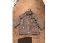 H&M Grey Boys Coat Age 12-18months