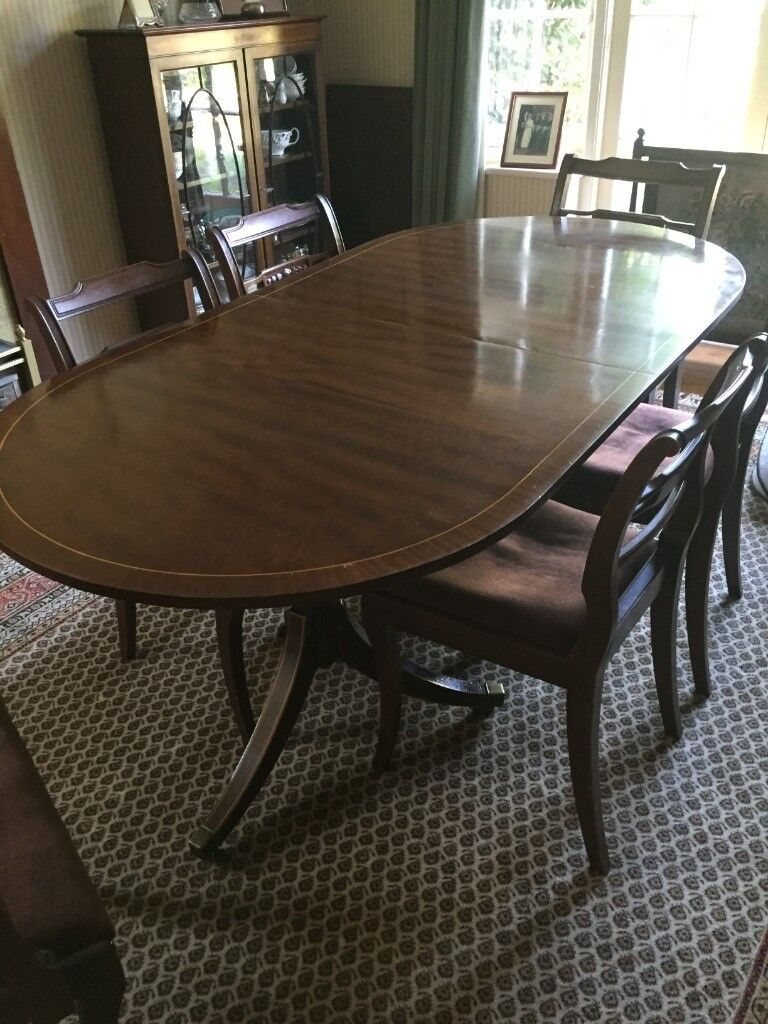 Beautiful Mahogany Dining Room Furniture For Free