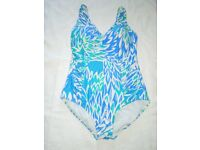 A Genuine John Lewis Woman Multicoloured Swimsuit Size UK 16