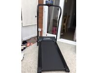 Confidence fitness foldable treadmill. 9 months old. Used only a hand full of times.