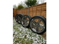 "Audi 18"" Alloys wheels and tyres 5x112"