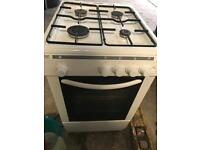 Gas cooker and microwave