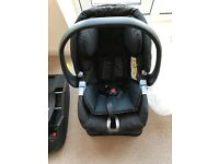 Child car seat / Baby carrier with standard and ISOFIX base