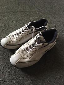 HI TEC WHITE GOLF SHOES TRAINER STYLE SIZE 9