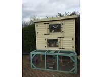 Rabbit hutch from Manor Pet Housing