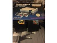 Nintendo NES boxed with 2 games