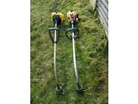2 Petrol Strimmers Spare or Repairs