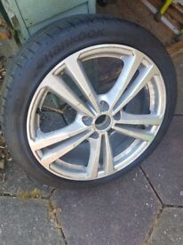 Audi A3 18 inch Alloy Wheel with Tyre
