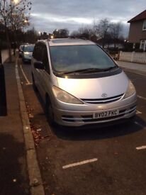 Toyota Previa Auto f £499 on the nearest offer. MOT August 2018, 208K miles,