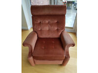 Recliner Parker Knoll with Fire Certificate