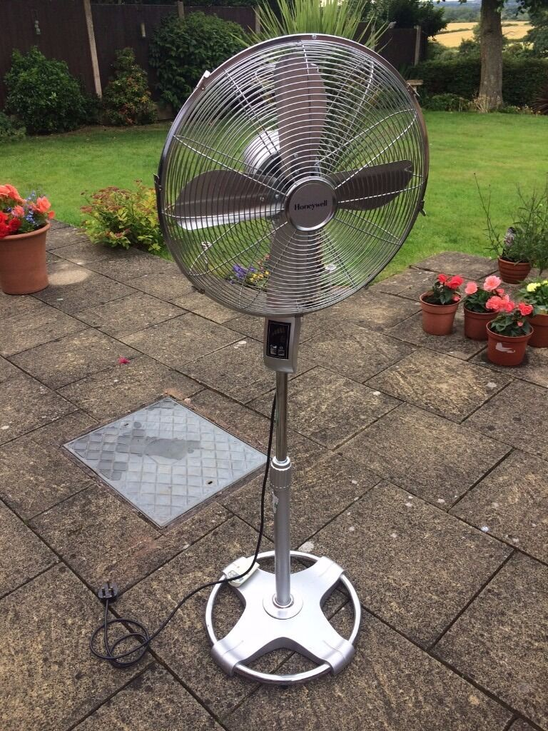 Honeywell Stand Fan : Honeywell hs re pedestal fan w remote control super