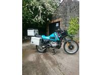 GENUINE LOW MILEAGE BMW R100GS PD FITTED WITH SENSIBLE UPGRADES READY FOR THAT BIG ADVENTURE