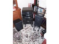 Stereo Pioneer PL-Z94 Full Stacking System with Speakers