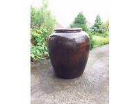 Extra Large Treacle Glazed Alibaba Jar