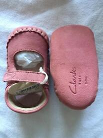 6-9 Month Clarke's shoes