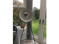 Tripod floor lamp in excellent condition, bought from next for £140
