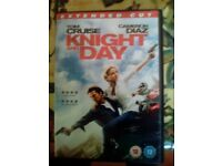 Knight and Day extended cut DVD 112mins running time