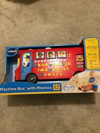 Vtech Playtime Bus with phonics brand new in box
