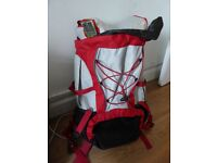 BRAND NEW UNUSED Rucksack 45ltr breathable with rain cover Backpack