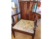 Antique Edwardian Carver Chair