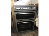 Hotpoint DSC 60S Freestanding Electric Cooker - 60cm Wide