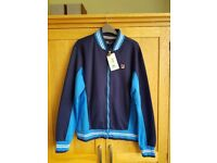 Fila track top(unworn with label)