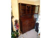 Oak Reproduction Oak Dresser for sale