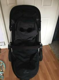 Gorgeous Black Quinny Buzz travel system, EXCELLENT condition